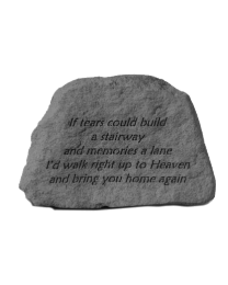 Small Engraved Garden Memorial Stone