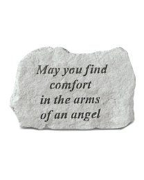 """""""May You Find Comfort..."""" Small Garden Memorial Stone"""