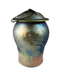 Animal Spirit Raku Cremation Urn- Oversized