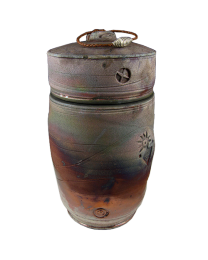 Rainbow Stone Urn