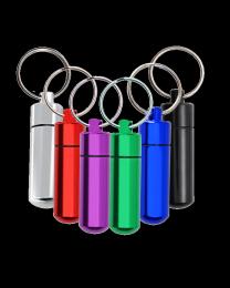 Aluminum Urn Keepsake Keychain