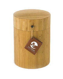 eco-friendly urn for water burials with bamboo container