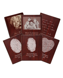 Wooden Funeral Guest Book With Inserts