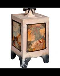 Wish Box Pottery Urn