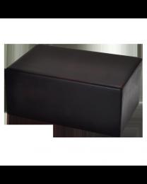 Dark Brown Wooden Box Urn