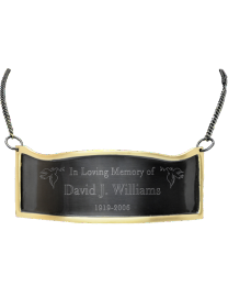 Engraved Contoured Plaque