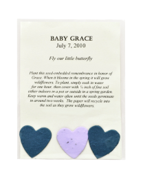 100 Baby Hearts Memorial - Mix & Match