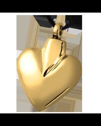 Modern Brass Heart