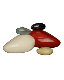 Resonance abstract urn available in many colors and two sizes