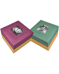 Embrace Box Urn With Photo Insert