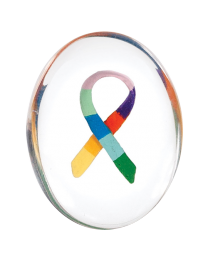 Awareness Ribbon Comfort Stone 12 pack