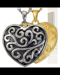 Scrollwork Filigree Heart