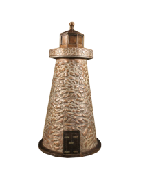 Lighthouse Pointe Bronze Sculpture Urn