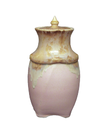 Pink Crystalline Sharing Urn