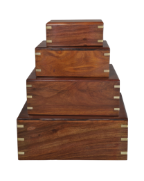 Perfect Wooden Box Urn