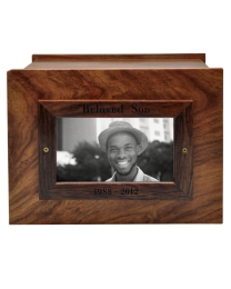 Photo Wood Urn
