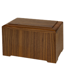 Wood Marquis Urn- Holds Funeral Home Supplied Box