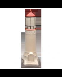 Lighthouse Porcelain Urn
