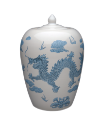 Chinese Dragon Porcelain Urn