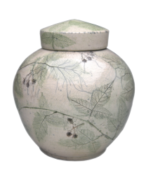 Botanical Fruit Artisan Urn