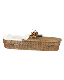 Eco-Friendly Woven Adult Caskets