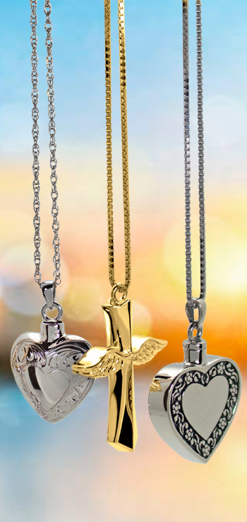 cremation jewelry necklaces