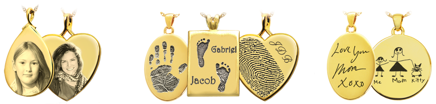 Print, Photo and Graphic Memorial Jewelry