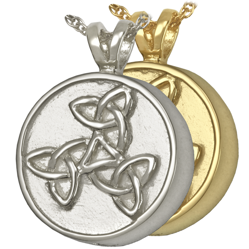 bead celtic pendant carat with sterling warrior boru silver gold