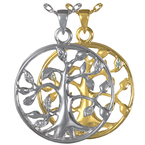 Celtic Tree Of Life Cremation Necklace Memorial Gallery