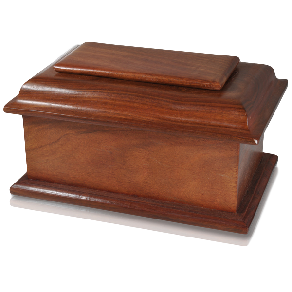 Stately Wood Urn