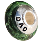 Art Glass Cremation Bead
