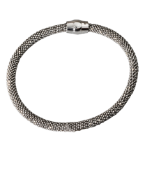 Rhodium-Plated Sterling Silver Bracelet