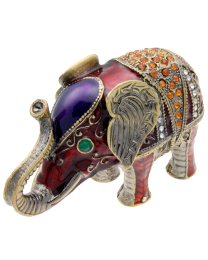 Embellished Elephant Keepsake Box
