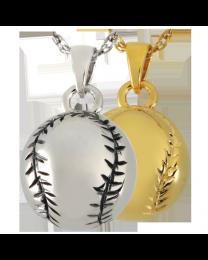 Baseball/Softball Cremation Pendant