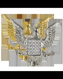 Jeweled Eagle Urn Pendant
