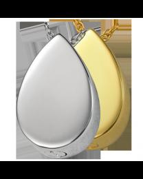 Teardrop Cremation Pendant