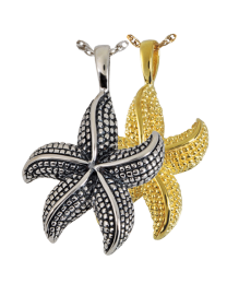 Starfish Cremation Jewelry
