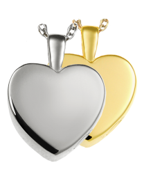 Classic Heart Cremation Pendant