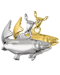 Sportfish Salmon Cremation Jewelry