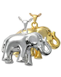 Elephant Never Forgets Cremation Pendant