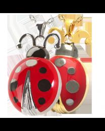 Ladybug Cremation Pendant