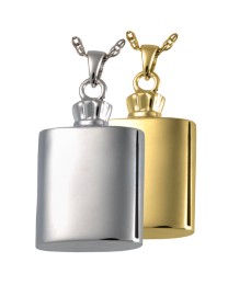 Flask Cremation Jewelry
