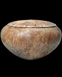 Alabaster Stone Urn- Grace