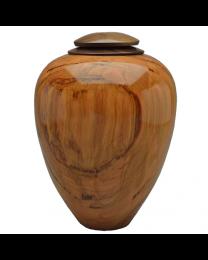 Classic Artisan Urn Cherry with Walnut Lid