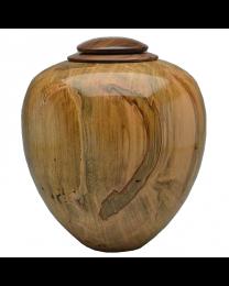 Classic Artisan Urn Ambrosia Maple with Walnut Lid