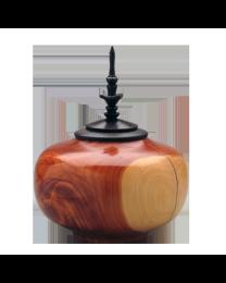 Wooden Medium Sharing Urn: Cedar