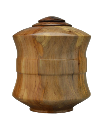 pecan wood urn for adult ashes