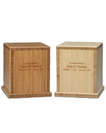 Bamboo Biodegradable Cremation Urn