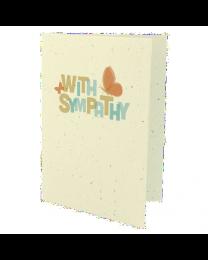 Butterfly Condolence Card