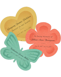 Plantable Personalized Seed Paper Memorial - Quantity Pack